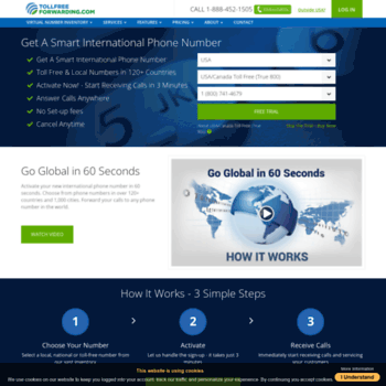 tollfreeforwarding com at WI  Virtual Phone Systems by