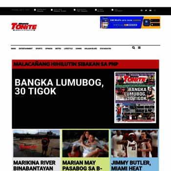 Tonite.abante.com.ph thumbnail
