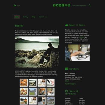 Веб сайт tonydame.doodlekit.com