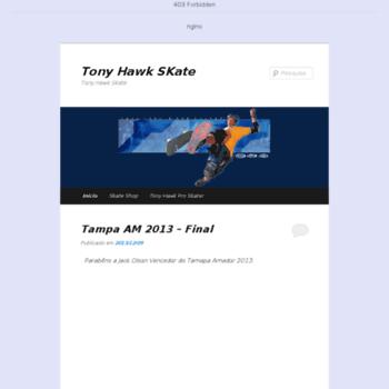 Tonyhawk.com.br thumbnail