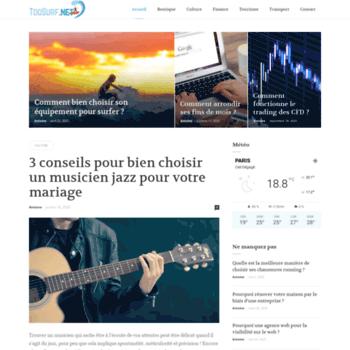 Toosurf.net thumbnail