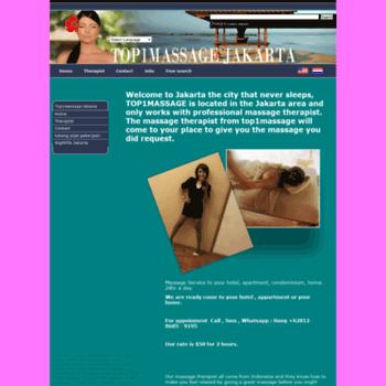 top1massage com at WI  Jakarta massage, we offer traditional