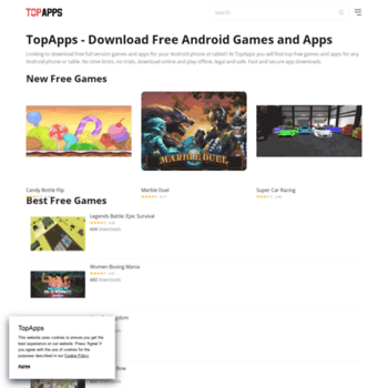 topapps com at WI  Free Games Download - 1000+ Free Games