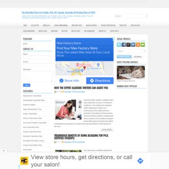 topclassifiedsitelist freeadshare com at WI  Top Classified Site