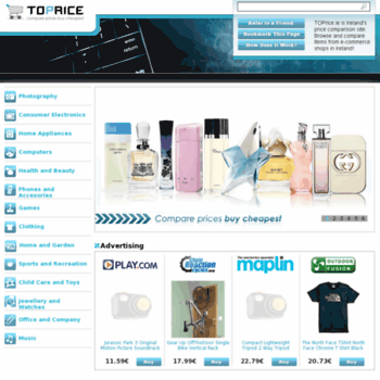 Toprice.ie thumbnail