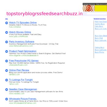 Topstoryblogrssfeedsearchbuzz.in thumbnail