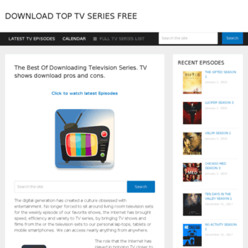 toptvseries biz at WI  The Best Of Downloading Television Series