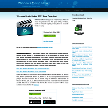 topwin-movie-maker com at WI  Windows Movie Maker Free