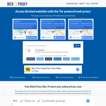 Tor.weboproxy.com thumbnail