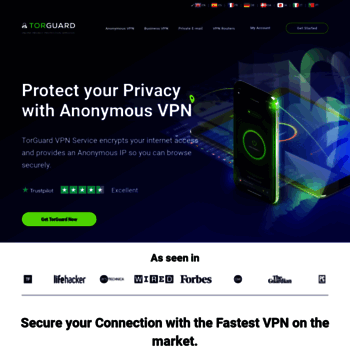 torguard net at WI  Anonymous VPN, Proxy & Email Services