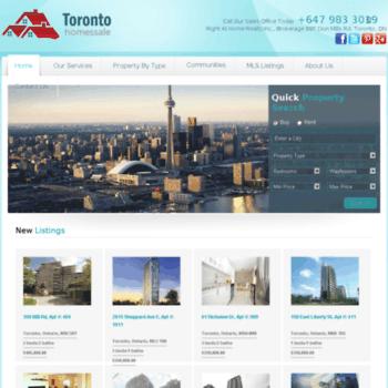 Torontohomes-forsale.ca thumbnail