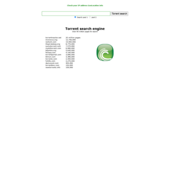 torrentsearch.needthe.net at WI. Torrent search site - games, music