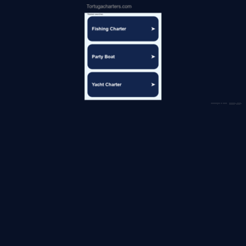 tortuga party boat fishing key west