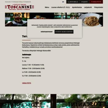 Toscanini.fi thumbnail