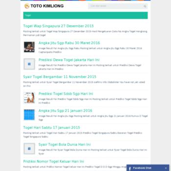 totokimliong com at WI  totokimliong com - Domain Expired