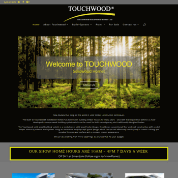Touchwoodsolidwoodhomes.co.nz thumbnail