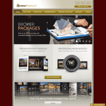 tourfactory com at WI  TourFactory :: Real estate