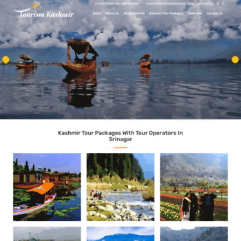 Tourismkashmir.co.in thumbnail