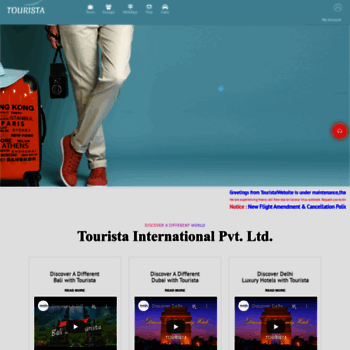 tourista asia at WI  Best online travel agency | white label