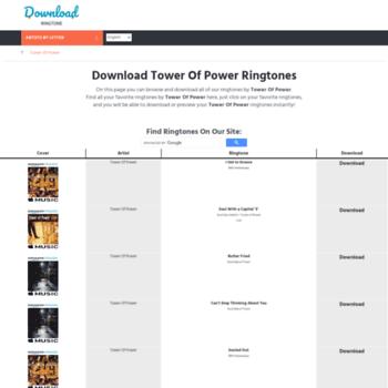 Towerofpower.download-ringtone.com thumbnail