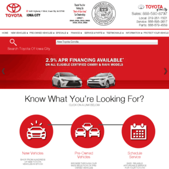 Toyota Iowa City >> Toyotaiowacity Com At Wi Toyota Dealer Iowa City Ia New