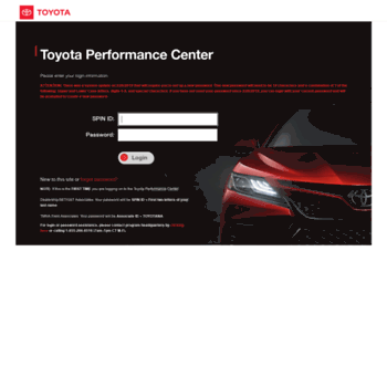 Toyota Performance Center >> Toyotaperformancecenter Com At Wi Toyota Performance Center
