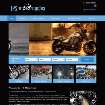Tpsmotorcycles.co.uk thumbnail