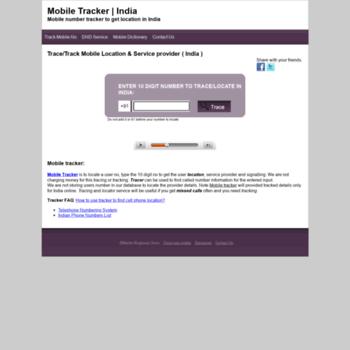 Tracker.mobileringtonesstore.com thumbnail