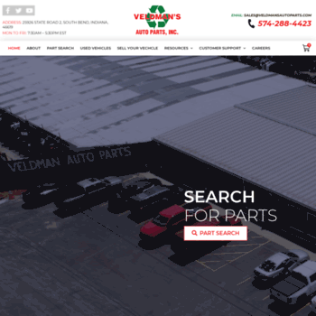 Car Part Com Used Auto Parts >> Trade1458 Car Part Com At Wi Veldman Auto Parts Inc Source For