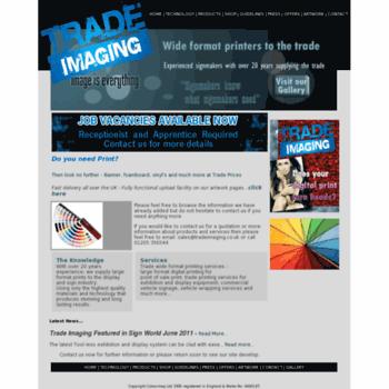 Tradeimaging.co.uk thumbnail