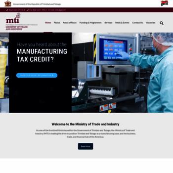 Tradeind.gov.tt thumbnail