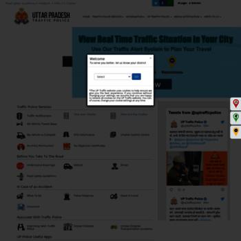 Traffic.uppolice.gov.in thumbnail