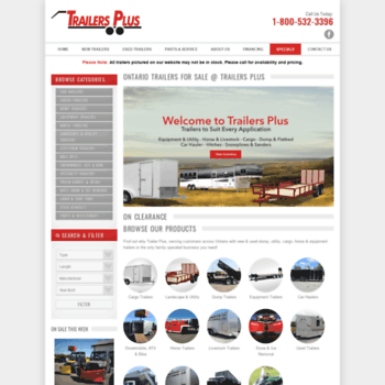 Trailers Plus Peterborough >> Trailersplus Net At Wi Ontario Trailers For Sale Trailers