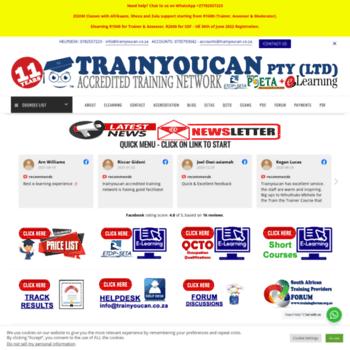 Trainyoucan.co.za thumbnail