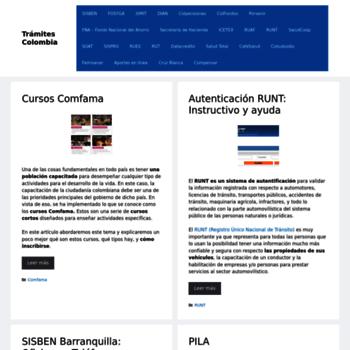 Tramitesenlinea.com.co thumbnail
