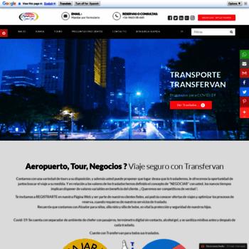 Transfervan.cl thumbnail