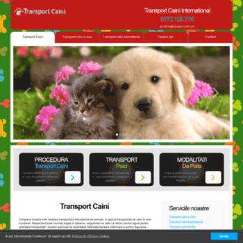 Transport-caini.net thumbnail