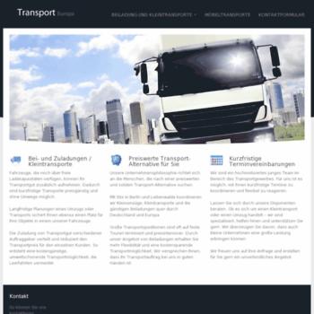 Transporteuropa.net thumbnail