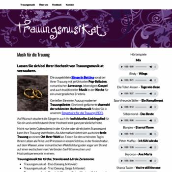 Trauungsmusik.at thumbnail