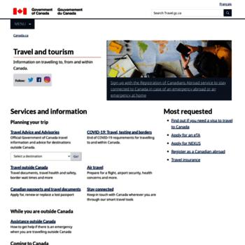 Travel.gc.ca thumbnail