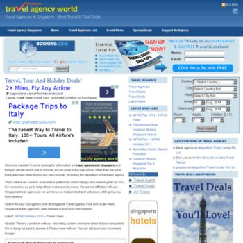 Travelagencyworld.com.sg thumbnail