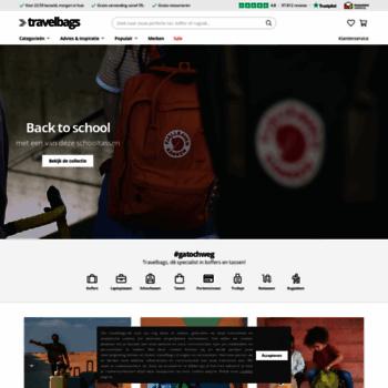 83ea6e12cd4 Koffers en Tassen koop je Online bij dé Koffer Specialist   Travelbags.be.  Visit travelbags.be