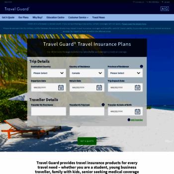 Travelguard.ca thumbnail