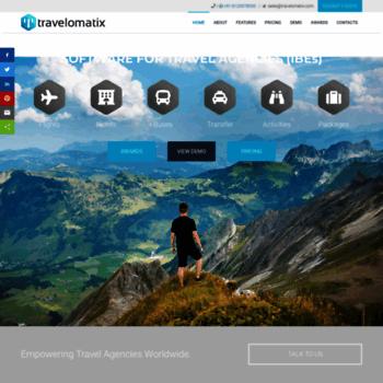travelomatix com at WI  Travel Portal Development, B2C B2B