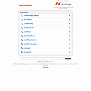 Traverso-daw.org thumbnail