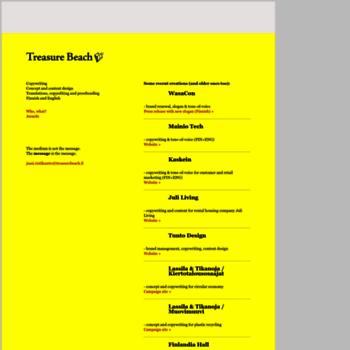 Treasurebeach.fi thumbnail