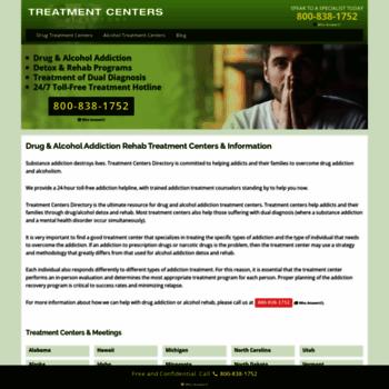 Treatmentcentersdirectory.com thumbnail