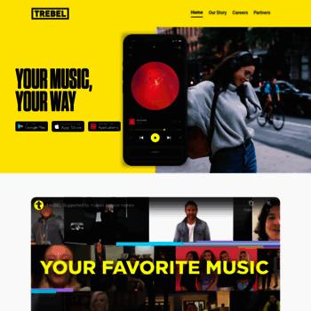 trebel io at WI  TREBEL MUSIC: Free Music Download App for
