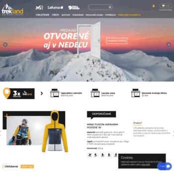 a1fd9949ec09 trekland.sk at WI. Trekland - Predaj outdoorového oblečenia a ...