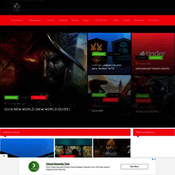 Веб сайт trendigitaltech.com